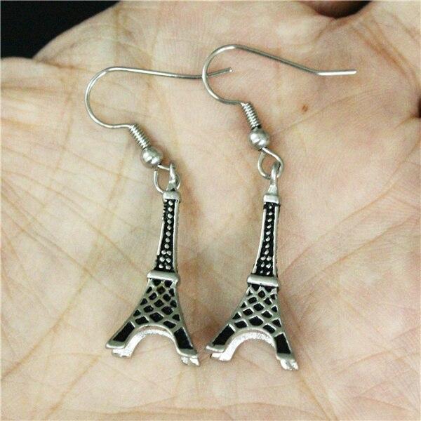 Beliebte Dangler Edelstahl Frankreich Ohrringe 316l D9ywei2eh Eiffelturm tsBhxodQCr