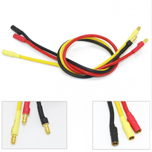 3pcs lot 300mm 30cm 3 5mm Gold Bullet Banana RC Brushless Motor ESC Connectors Extension Cable