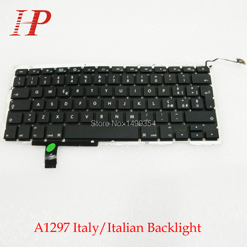 "Japanese Keyboard /& Backlight for MacBook Pro 17/"" A1297 2009 2010 2011 Unibody"