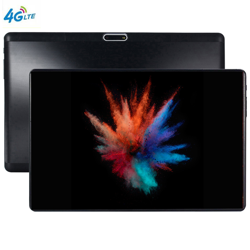 Android la tablette 4G LTE 10.1 tablette écran mutlti touch Android 9.0 8 Core Ram 6 GB ROM 64 GB caméra 8MP Wifi 10 pouces tablette pc