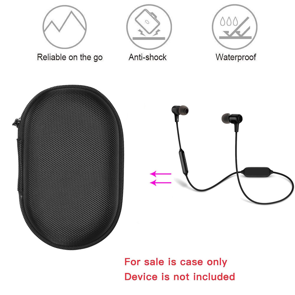 Binmer Carry Travel Portable Protective Box Case Bag for  JBL-E25BT-In-Ear-Bluetooth-Headphones Drop Dec 21