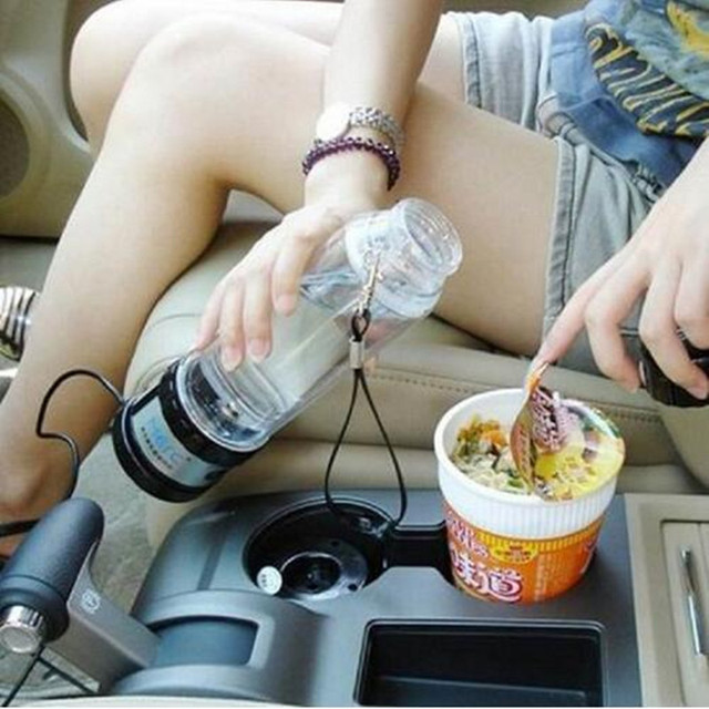 Auto 12v heating cup 24V Car Electric Kettle Cars Thermal Mug Heater Cups Boiling Water bottle auto accessories