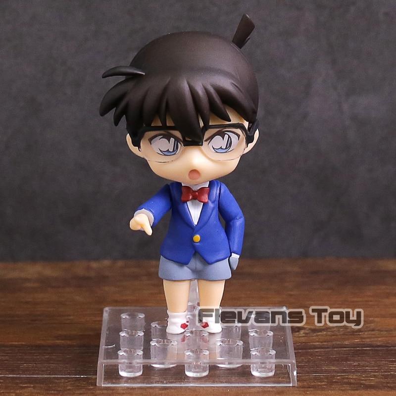 Nendoroid 803 Anime Detective Conan Edogawa PVC Figure Toy Gift New in box