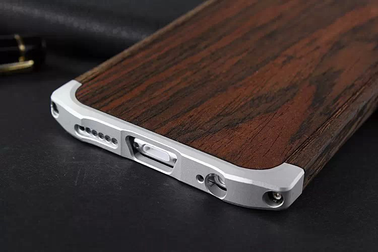 the latest 4eb35 6c247 US $24.28  Luxury Genuine 100% Natural Handmade Wooden Phone Case for  iPhone 6 Plus Best Wood+Aluminum bumper Frame Cover on Aliexpress.com    Alibaba ...