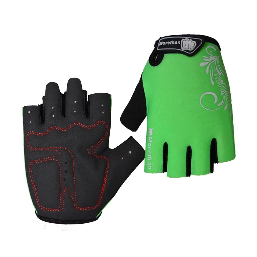 Half Finger Cycling Gloves Anti Slip Gel Pad Breathable Motorcycle MTB Road Bike Gloves Men Women Sports Bicycle Gloves Summer