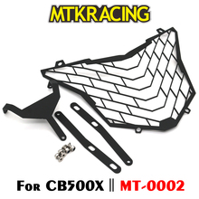 MTKRACING For Honda CB500X CB 500X CB500 X Motorcycle modification Headlight Grille Guard Cover Protector