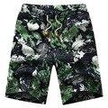Tengo Brand Summer Men's Beach Shorts for Men Short Pants Loose Cotton Linen Casual Board Shorts Plus Large Size (M-6XL)