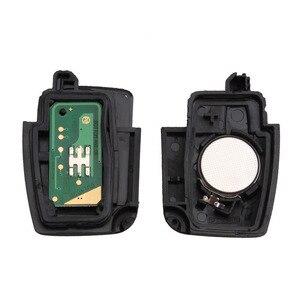 Image 3 - BHKEY llave de coche plegable con 3 botones, 433Mhz, para Ford 4D60 4D63, Chip para Ford Focus 2 3, Mondeo Fiesta, llavero Fob HU101 Blade
