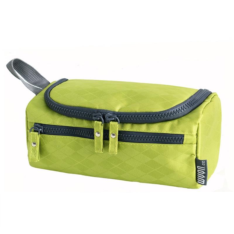 Waterproof Women Hanging Makeup Bag Nylon Travel Organizer Cosmetic Bag for Men Large Necessaries Make Up Case Wash Toiletry Bag цена