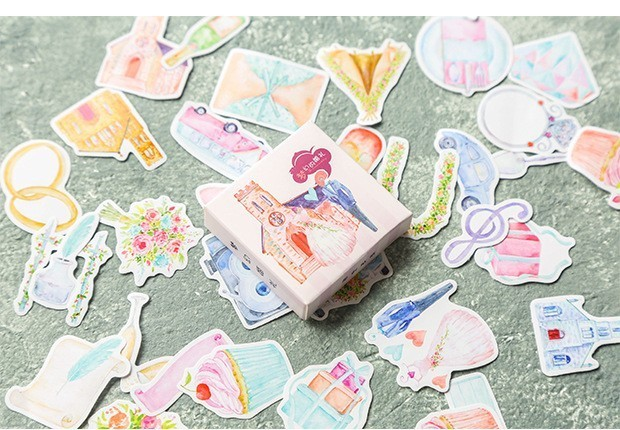 40PCS-box-Color-Cute-Marble-Paper-Sticker-Decoration-Decal-DIY-Album-Scrapbooking-Seal-Sticker-Stationery-Gift(12)