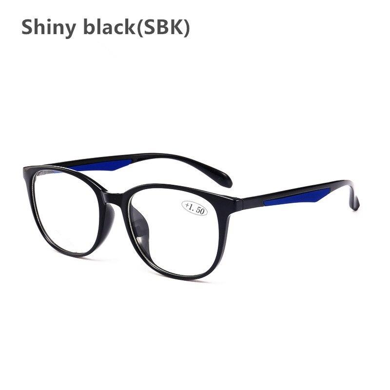 ce1a6d299a Comprar 2018 de moda ronda gafas de lectura con 1,56 asféricos CR39 lentes  de borde completo la presbicia gafas para hombres y mujeres, gafas de  lectura ...