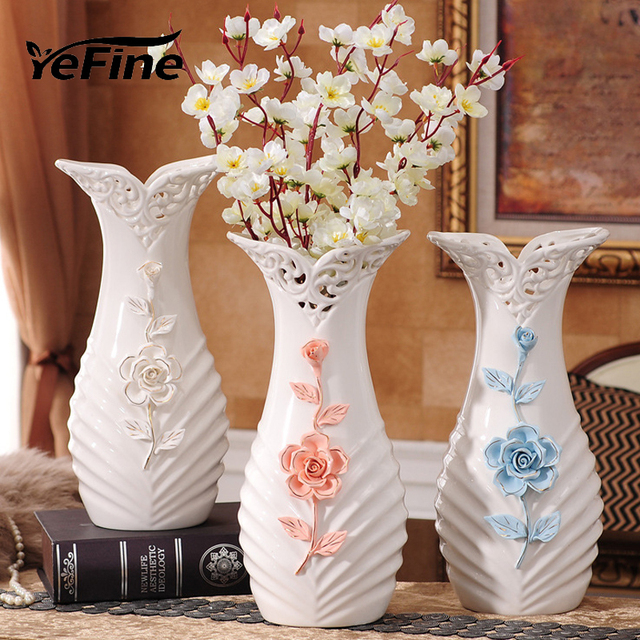 Aliexpress Buy Yefine European Modern Fashion Ceramic Flower