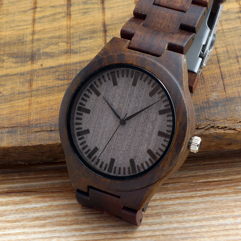 wooden watch deer leather bobobird buck luxury product mens box desc with bamboo head watches design quartz