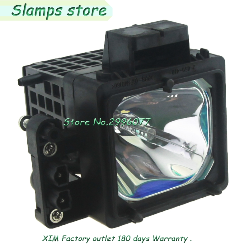 Replacement TV lamp with housing XL-2200 XL2200 for SONY KDF-55XS955 KDF-60WF655 KDF-60XS955 KDF-E55A20 high quality bulb original xl 5300 xl5300 f 9308 760 0 a1205438a replacement tv lamp with housing for sony tv and 1 year warranty