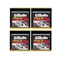 Gillette Trac II плюс заправка лезвия 10 ct. (Набор из 4)