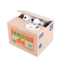 KAINISI Stehlen Geld Unfug Sparschwein Katze Automatische Elektrische Stola Piggy Bank Penny Spardose Geschenke Kinder Spielzeug