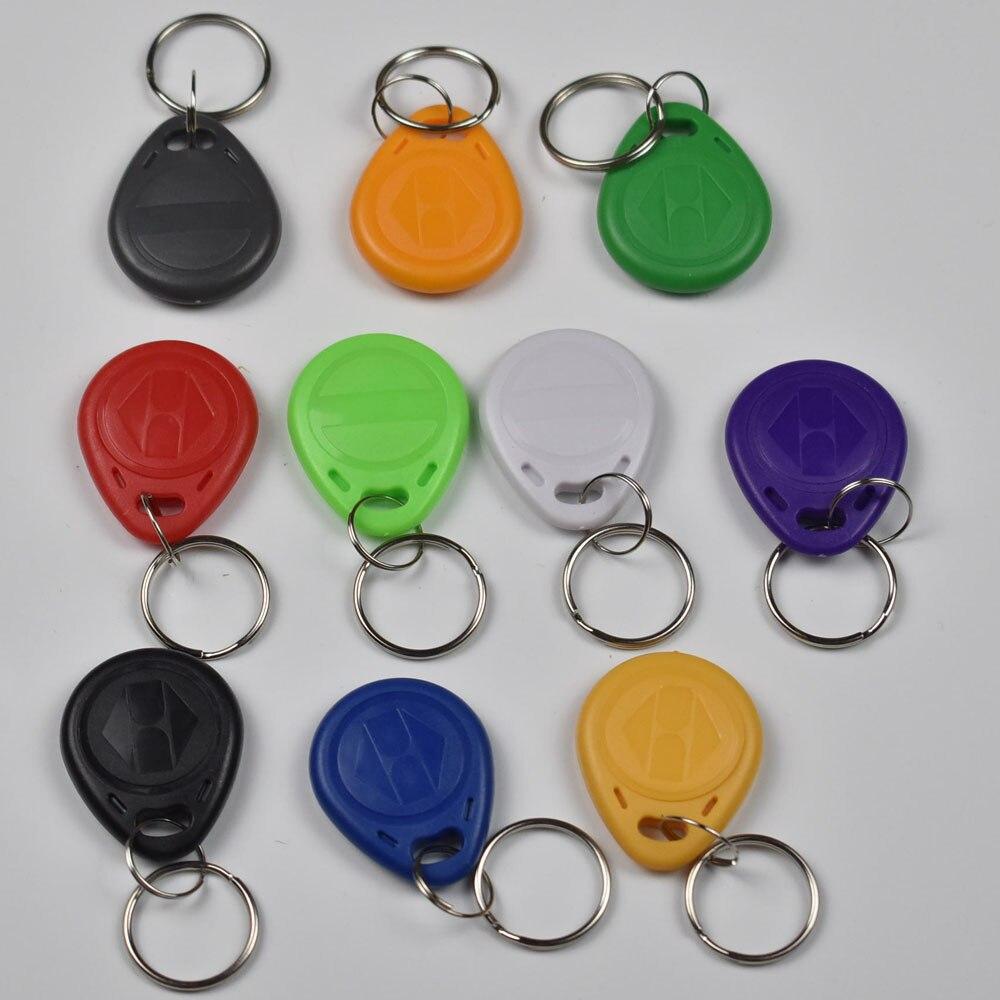 100pcs RFID 125KHz Tag TK4100 EM4100 Proximity Keyfobs Tags RFID Card for Access Control Time Attendance цены онлайн