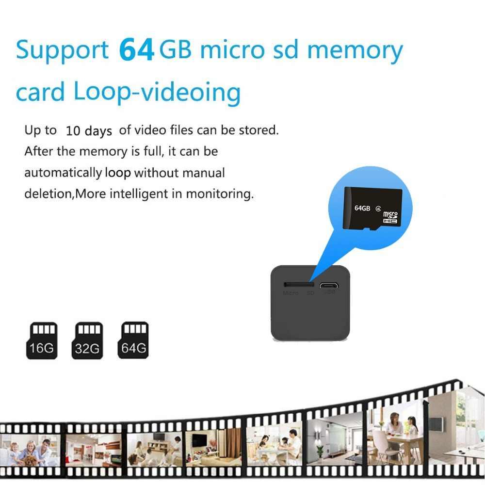 واي فاي البسيطة كاميرا IP لاسلكية 1080 وعاء للرؤية الليلية كاميرا مايكرو كاميرا أمنة للبيت كاميرا فيديو Camcorde دعم الخفية TF بطاقة