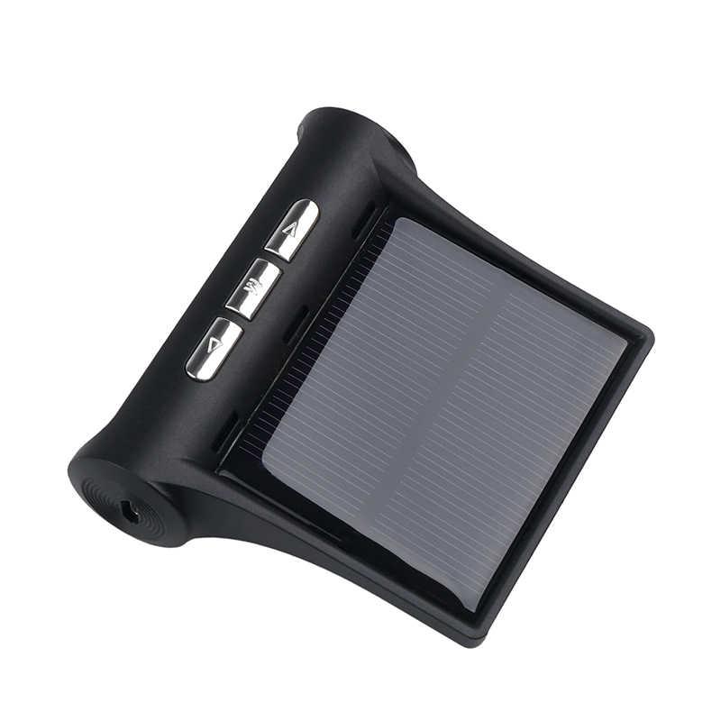 Sikeo חכם רכב TPMS צמיג לחץ מעורר כלי שמש טעינה אלחוטי LCD HD תצוגת עם חיצוני חיישנים עבור Kia אאודי טויוטה