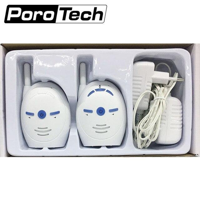 V20 الصوت مراقبة الطفل صوت السلامة المحمولة اتجاهين راديو ليلة الطفل البكاء مراقبة غرفة الطفل