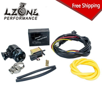 LZONE - FREE SHIP New ElectrIcal Diesel Blow Off Valve With Horn Outside /Diesel Dump Valve/Diesel BOV with Horn JR5011W+5743