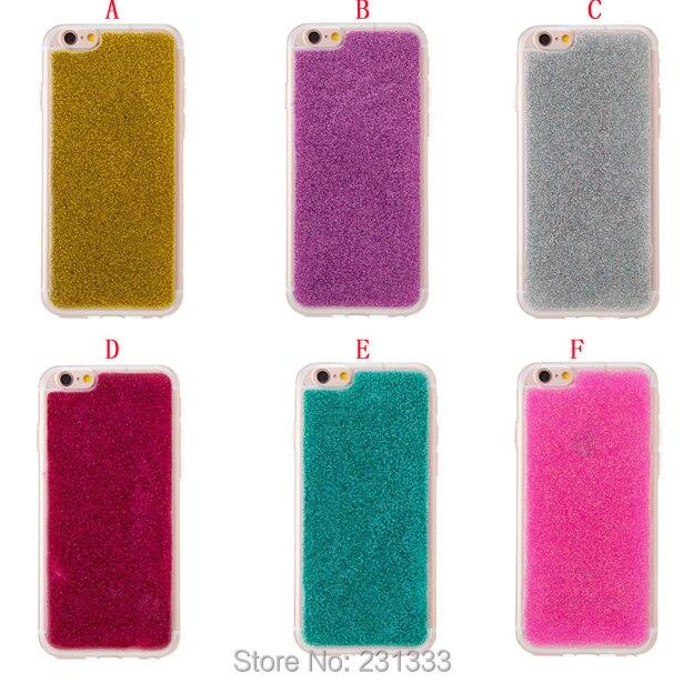 <font><b>Glitter</b></font> Bling Soft TPU Case For Iphone 7 Plus I7 7PLUS Iphone7 <font><b>6</b></font> 6S SE 5 5S Clear Shine Rubber jelly <font><b>Cell</b></font> <font><b>phone</b></font> Skin <font><b>Cover</b></font> 50pcs