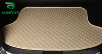 Car Styling Car Trunk Mats for KIA CERATO Trunk Liner Carpet Floor Mats Tray Cargo Liner Waterproof 4 Colors Opitional