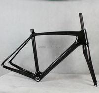 Carbon Fiber Bike Frames 700C Carbon Fiber Road Bike Frame Bike Fork Carbon Fiber Bicycle Accessories
