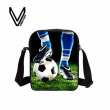 Veevanv Cool Men Messenger Bag 3D Hot World Star Messi Printing Shoulder Bag for Girls Boys