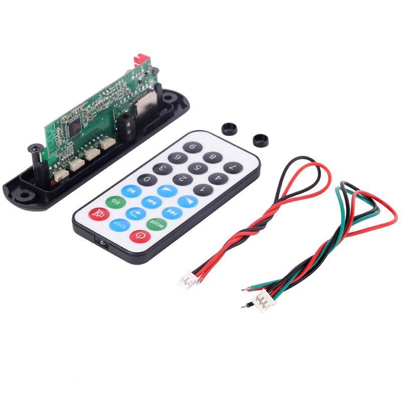 Unterhaltungselektronik Hifi-player Auto Bluetooth Mp3 Decoder 7-12 V Bord Decodierung Player Modul Unterstützung Fm Radio Usb/tf Lcd Bildschirm Fernbedienung Neue