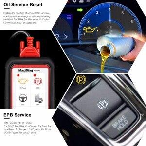 Image 5 - Autel Escáner MaxiDiag MD808 Pro, lector de aceite y reinicio de batería OBD2, todos los sistemas, reaprendizaje de pastilla de freno, estacionamiento, SAS, SRS, ABS, EPB