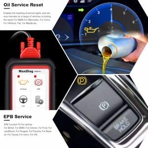 Image 5 - Autel MaxiDiag MD808 Pro все системы OBD2 масло сканера и сброс батареи регистрации, парковочные тормозные колодки Relearn,SAS,SRS,ABS,EPB,