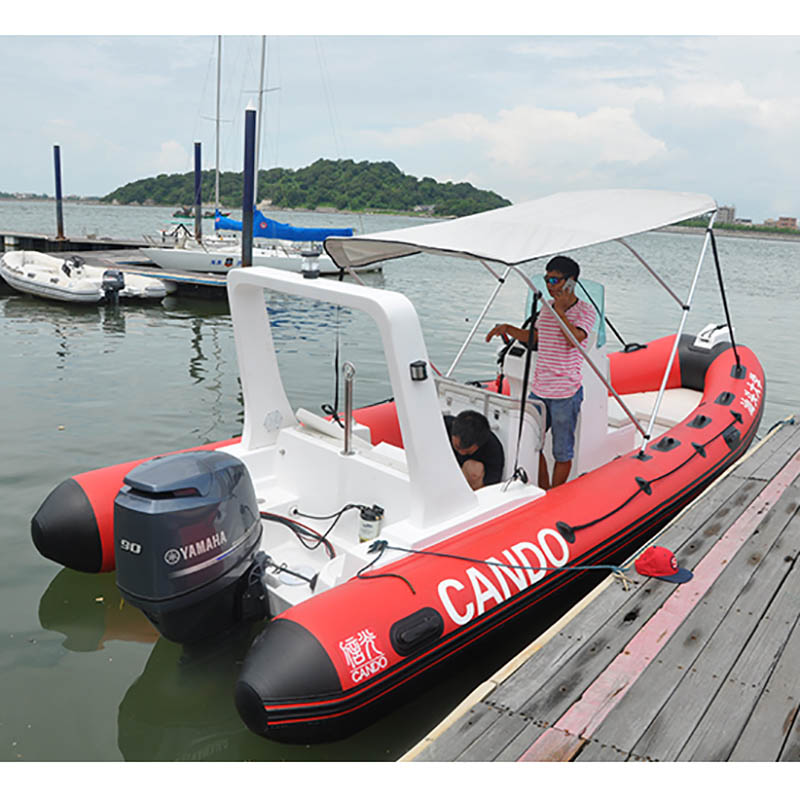 Original Boat Outboard Two-Stroke Motor For Fishing Inflatable Boats Yacht Four-Stroke Outboards High Power Rowing Boat Outboard