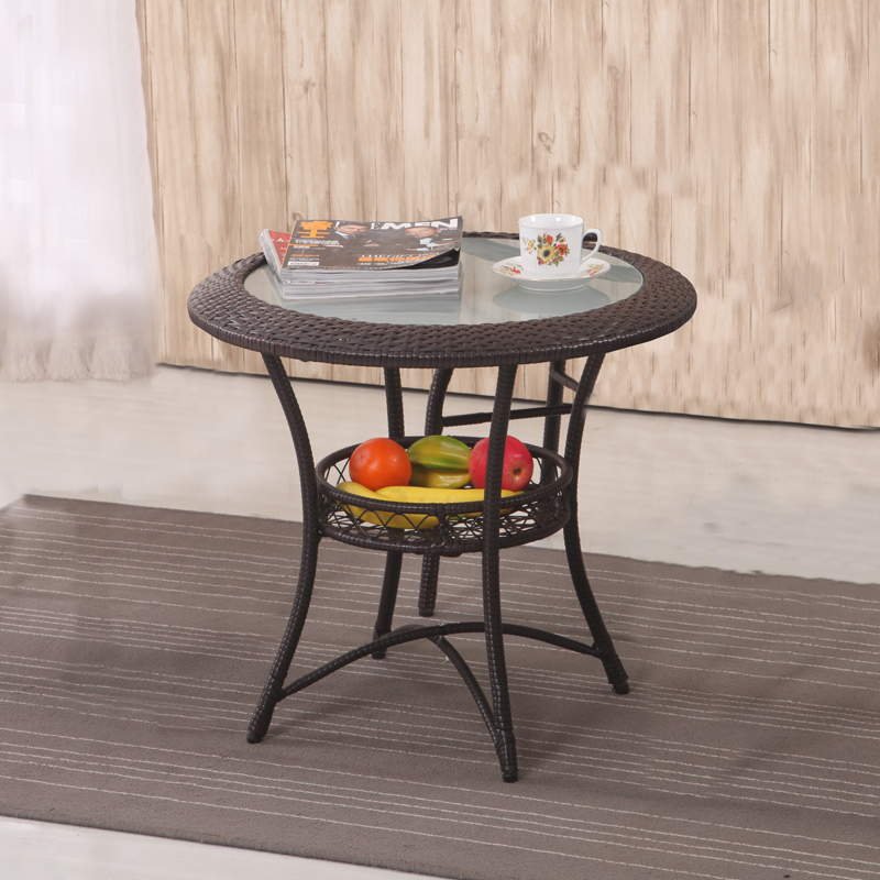 Compare prices on round rattan coffee table online for Inexpensive round tables