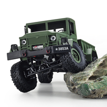 HengLong RC Truck Rock Crawler US Military Transporter Off Road 4WD Tactical 2 4G Remote Control