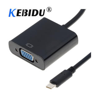 Kebidu Adapter-Cable Usb-3.1-Converter Type-C Female USB-C Macbook To Vga