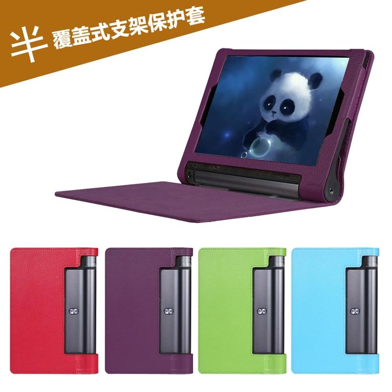①  Красивый кожаный чехол Gitf 10.1 Lenovo Yoga Tab 3 10 X50L X50F Tablet ✔