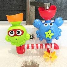 Lindo juguete de spray de pulpo y cangrejo