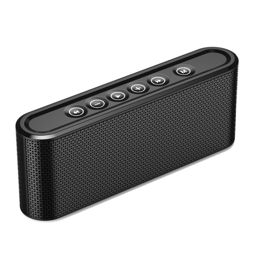 Bass Portable Bluetooth Speaker Stereo Music Wireless Speaker Built-In Microphone, 20 Hours Playtime, Power Bank For Phone