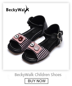 aef2176ce96bb9 2018 New Spring Summer Kids Shoes Boys Soft Leather Sandals Baby Boys  Summer Shoes Soft Sole Beach Children Sandals