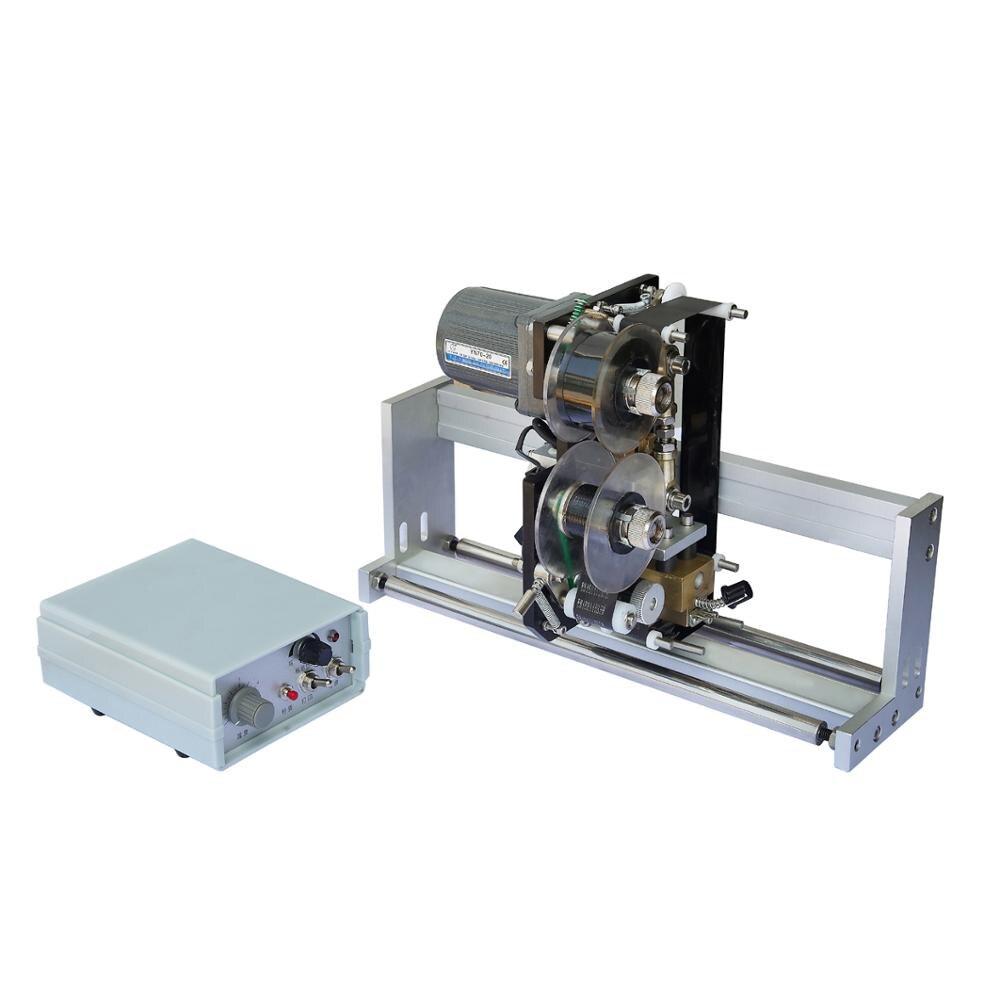 Machine d'impression chaude de ruban de couleur HP-241B, imprimante de ruban de chaleur de RCIDOS, machine d'estampillage chaude de ruban de couleur