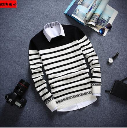 YP1013M-2Free shipping 2017 autumn winter Hot sale fashion causal nice warm christmas sweater men Cheap wholesale brand clothing