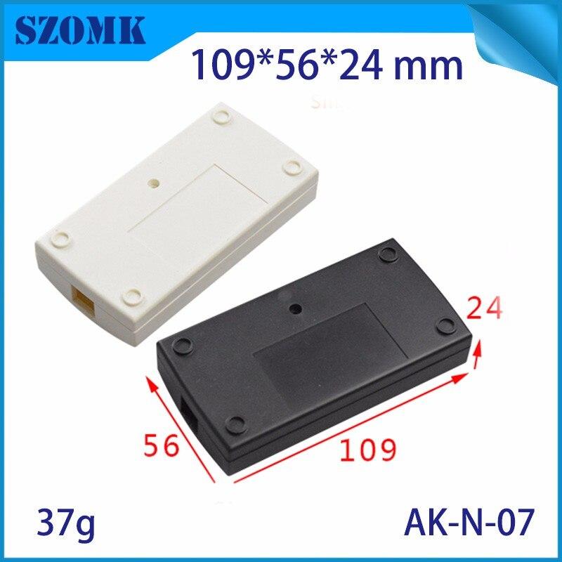 100*25*25mm Extruded PCB Aluminum Box Black Enclosure Electronic Project Case KI