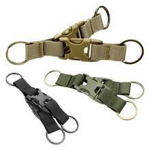 Randonnée en plein air tactique militaire ceinture pince remplacement sac à dos Pack boucle mousqueton ceinture verrouillage porte-clés clip libération rapide