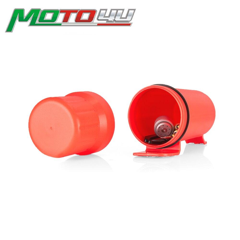 Universal Off-road Motos Atv Zubehör Motorboot Wasserdicht Werkzeug Rohr Handschuhe Handy Lagerung Box Rot 1 Stück Große Größe Dauerhafte Modellierung