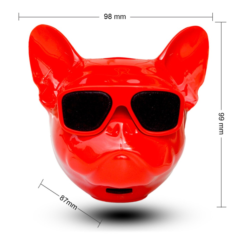 Latest Aerobull Nano Wireless Bluetooth Speaker MINI Bulldog Bluetooth Speaker Outdoor Portable TF HIFI Bass Room Decoration 4