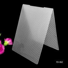 Круглый дизайн diy режущие штампы Скрапбукинг пластиковая папка для тиснения
