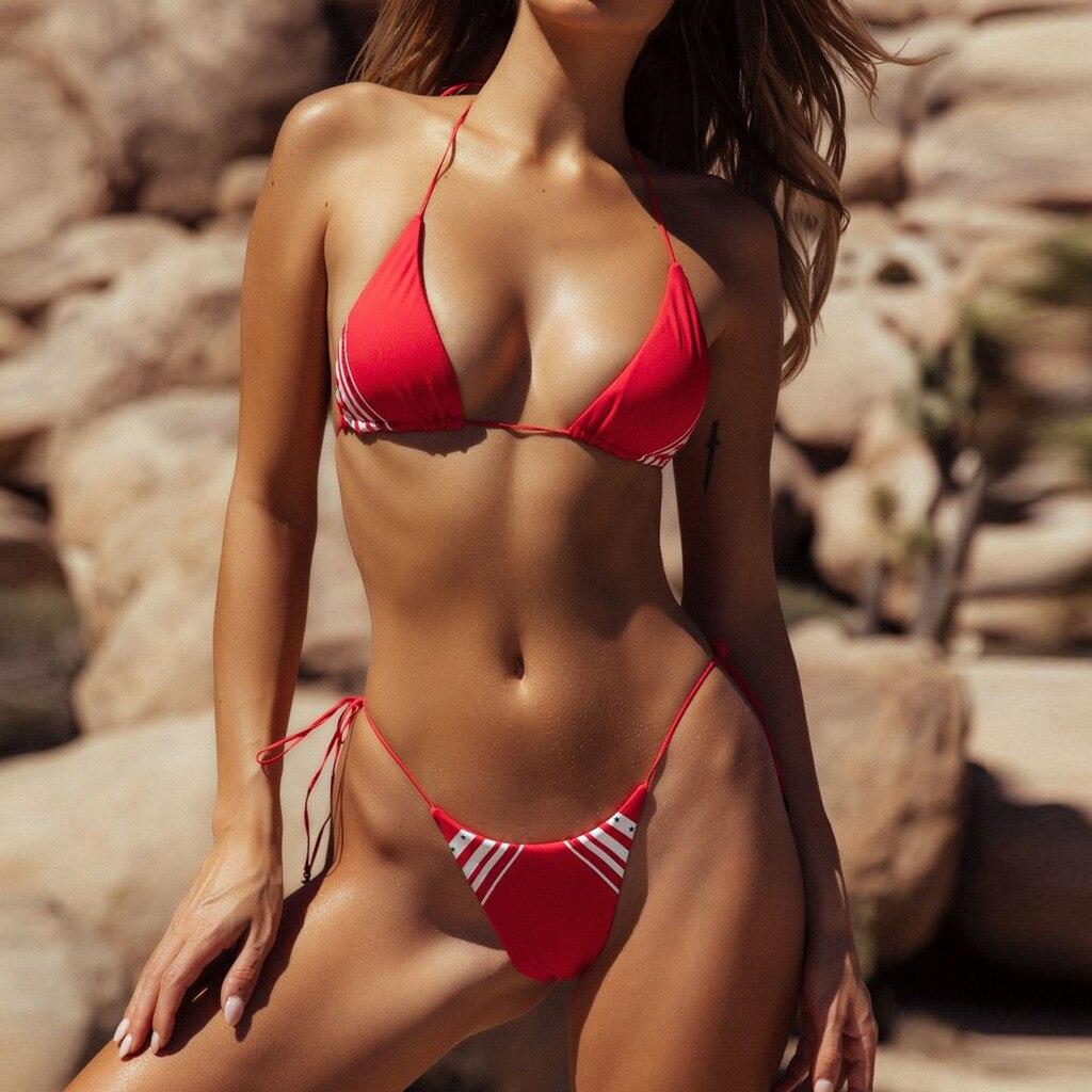 Hot women in risque bikinis