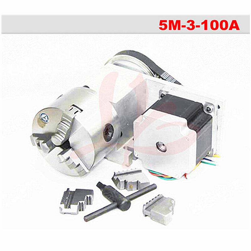 Rotation 3:1 A axis for Mini CNC router/engraver woodworking engraving machine