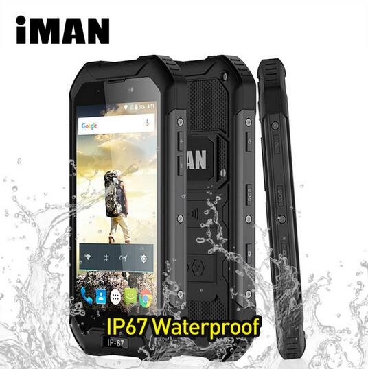 iMAN X5 IP67 Waterproof Mobile Phone 4 5 inch MTK6580 Quad Core Android 5 1 1